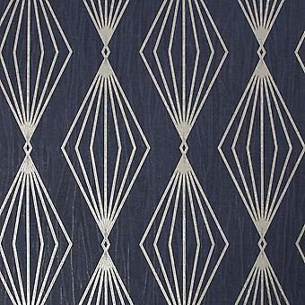Marquise Geo Sapphire Wallpaper