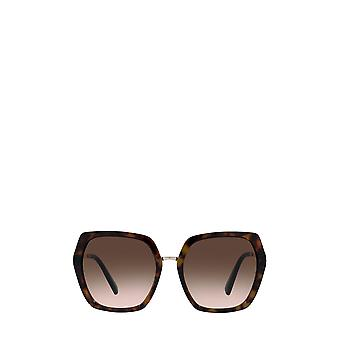 Valentino VA4081 havana female sunglasses
