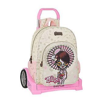 Skola Ryggsäck med hjul Evolution Catrinas Mariko