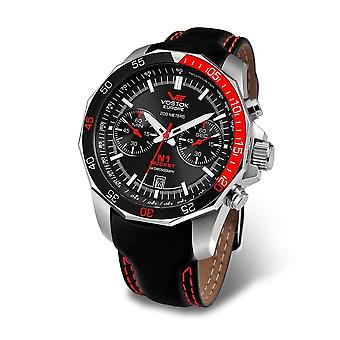Vostok-Europe - Wristwatch - Men ' Rocket-N1 Chrono - 6S21-2255295 Leather
