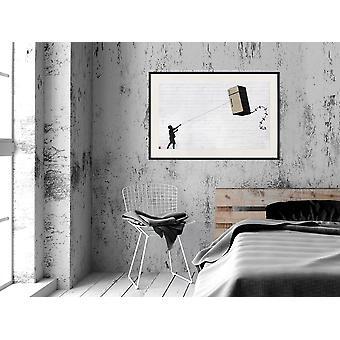 Juliste - Banksy: Jääkaappi Leija-45x30