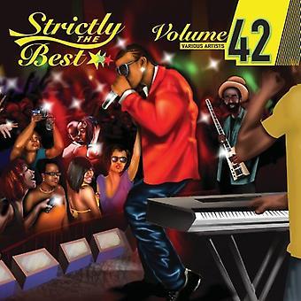 Strengt importerer bedst - Vol. 42-Strictly bedste [CD] USA