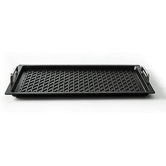 """""""Klaus grillt"""" Gastronorm - Grillplatte GN 1/1 mit BBQ - Grillboden von , 53 x 33 cm, 2 cm tief, mit"""