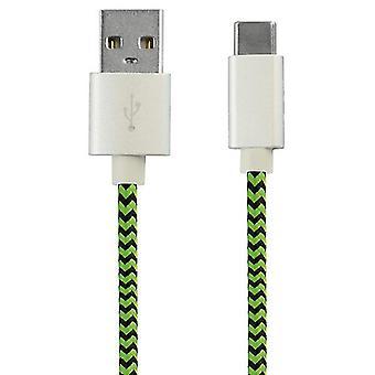 Usb-c kabel Ksix 2.4a 1 M