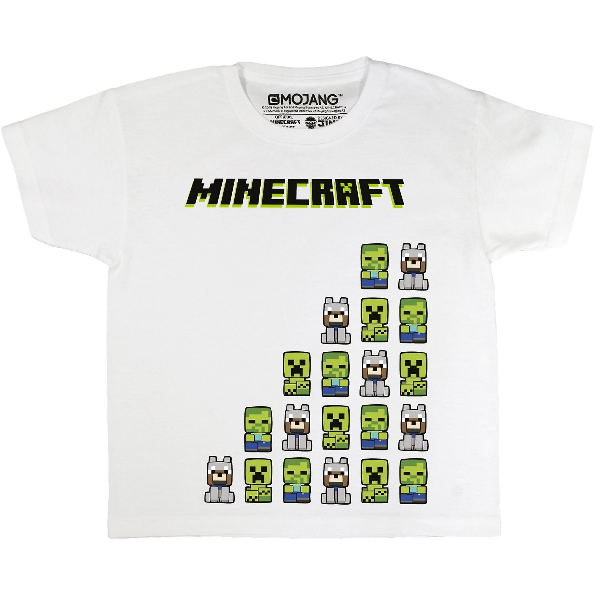 Minecraft Jungen meine Freunde T-Shirt   Fruugo DE