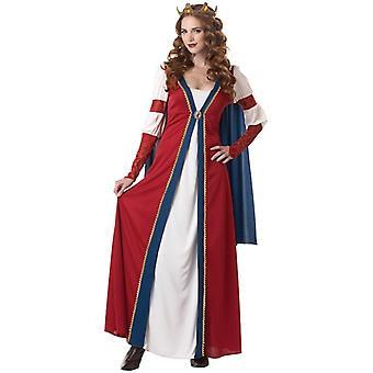 Renaissance Queen Medieval Princess Faire Gown Women Costume