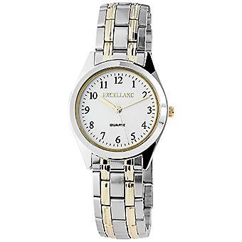 Excellanc - Reloj de pulsera para hombre, cuarzo, diferentes materiales 280112000037
