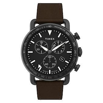 Timex katsella portti kronografi musta tw2u02100