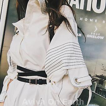 Women Suspenders Fashion Handmade Leather Body Harness Belts
