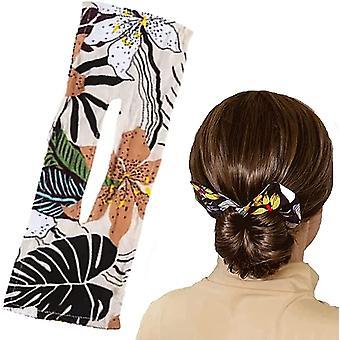Deft Bun für Haar 6 Farben Mode Haarbänder Frauen Sommer geknotet Draht Stirnband C