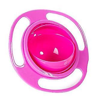 Red universal gyro bowl, children's 360-degree rotating balance bowl az3200