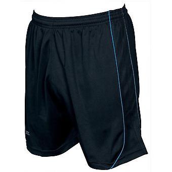 Presné šortky Mestalla 26-28 palcov čierne/azúrové