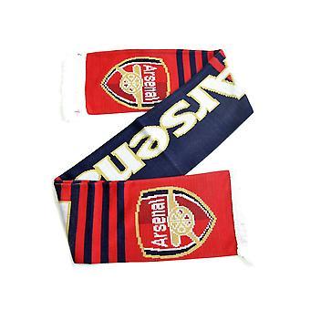 Arsenal Streifen Jacquard stricken Schal