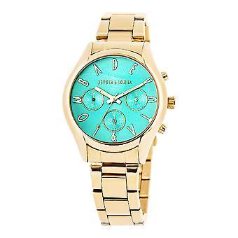 Dame'Watch Devota & Lomba DL002UMF-02TURQUESE (Ø 40 mm)