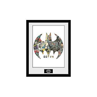 באטמן - הדפס אספן סמל קומיקס