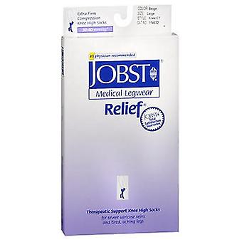 Jobst Jobst Relief Knee High Extra Firm Compression Beige, Large each