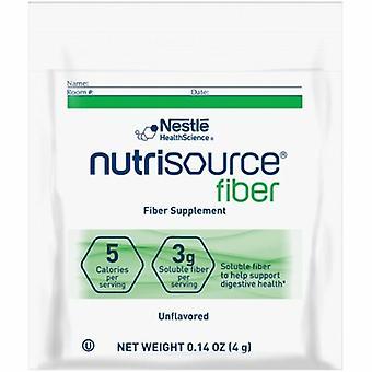 Nestlé Healthcare Nutrition Supplément Oral Nutrisource Fibre Non aromatisée 4 Gram Container Individual Packet Powder, Cas de 75