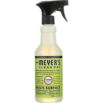 Rouva Meyers Clean Day Multi Clnr Lemon Verbena, tapaus 6 X 16 Oz