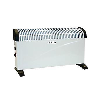 Jocca Adjustable Thermostat Control Convector Heater 2822, White