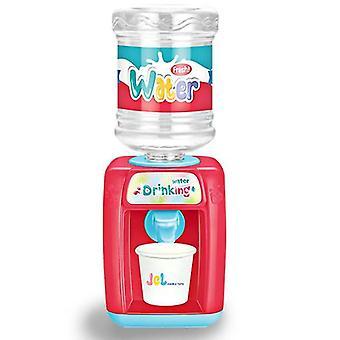 Piccolo set di gioco da cucina, i bambini giocano a cucina con suoni di luci realistiche, simulazione di spray (ROSSO)
