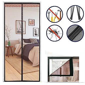 Screen Door Curtain Net Anti Insect Mesh Fly Screen Mosquito Protection Net Summer Door Screen Kitchen Curtain