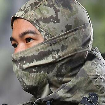 (Earth Tone) Full Face Mask Cycling Ski Neck Army Camouflage Motorcycle Balaclava Hat