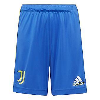 2021-2022 Juventus Third Shorts (Blue) - Kids