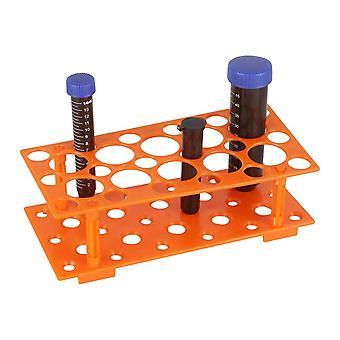 28 sockets Tube de centrifugeuse en plastique Rack