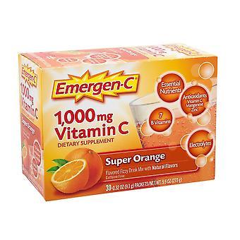 Emergen-C Daily Immune Support Drink Mix With 1000 mg Vitamin C -  Super Orange