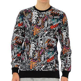 Supreme Grip Homme Sweatshirt Laredo Demi-manche Noir