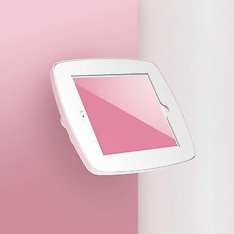 """Tablet-tietokoneen telakot seisovat wallmount-tabletin turvakotelossa 25,6 Cm 10,1"""" valkoinen"""