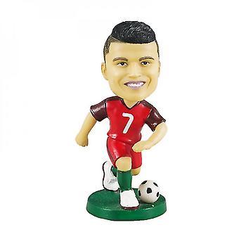 Figurine d'action Statue Bobblehead Football Doll Décoration