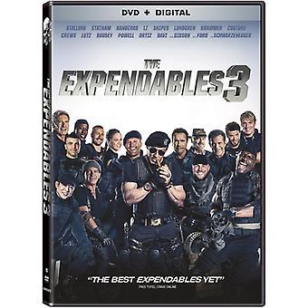 Expendables 3 [DVD] USA importerer