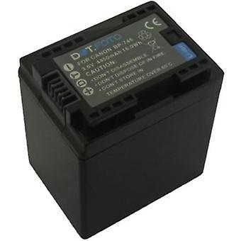 Dot.Foto BP-745 PREMIUM 3.6v / 4450mAh Ersatz wiederaufladbare Camcorder Batterie für Canon [Siehe Beschreibung für Kompatibilität]
