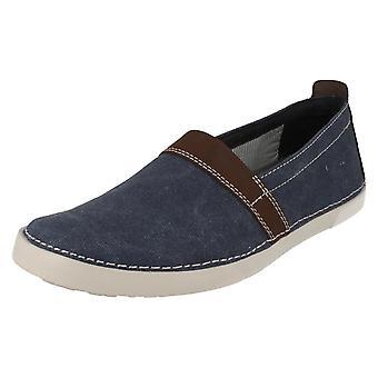 Herren Clarks Casual Slip-on Schuhe Neelix kostenlos
