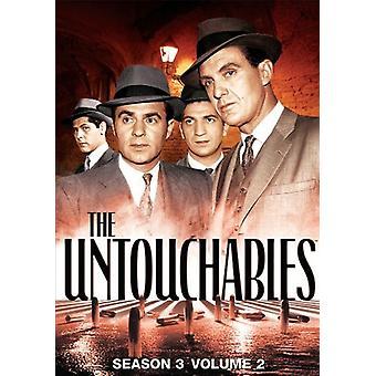 Intoccabili - intoccabili: Importazione stagione 3 Volume 2 [DVD] Stati Uniti d'America