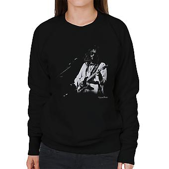 Neil Young Manchester Palace 1973 Damen Sweatshirt