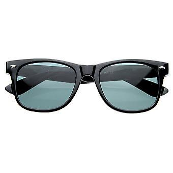 Standard question emblématique rétro grand classique cor Rimmed lunettes de soleil Style