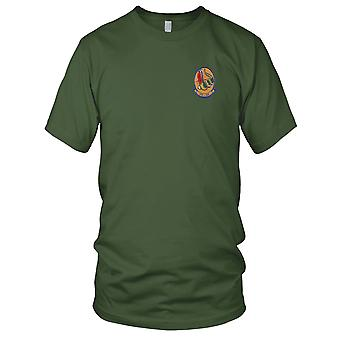 US Navy VFA-204 Embroidered Patch - River Rattlers Mens T Shirt