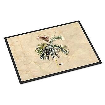 Carolines skatter 8483MAT Palm Tree innendørs eller utendørs Mat 18 x 27