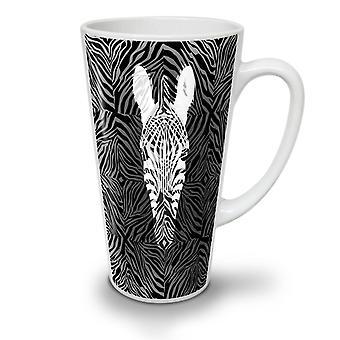 Zebra møte vill nye hvit te kaffe keramiske Latte krus 12 oz | Wellcoda