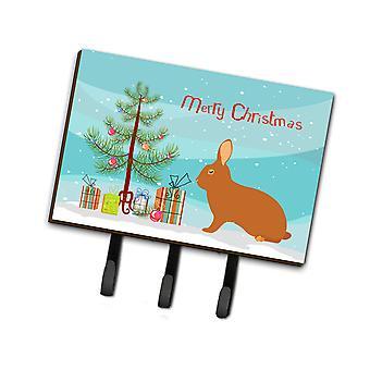 كارولين الكنوز BB9336TH68 ريكس الأرنب عيد الميلاد المقود أو حائز المفتاح