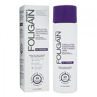 Foligain for Women - Cleansing Conditioner For Thin Hair - With Trioxidil For Thinning - Clinically Tested For Volumizing - Helps Thicken Strands