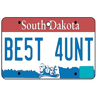 South Dakota - beste Tante License Plate Auto Lufterfrischer