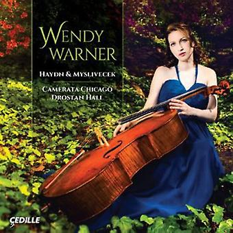Haydn/Myslivecek - Haydn & Myslivecek: Cello Concertos [CD] USA import