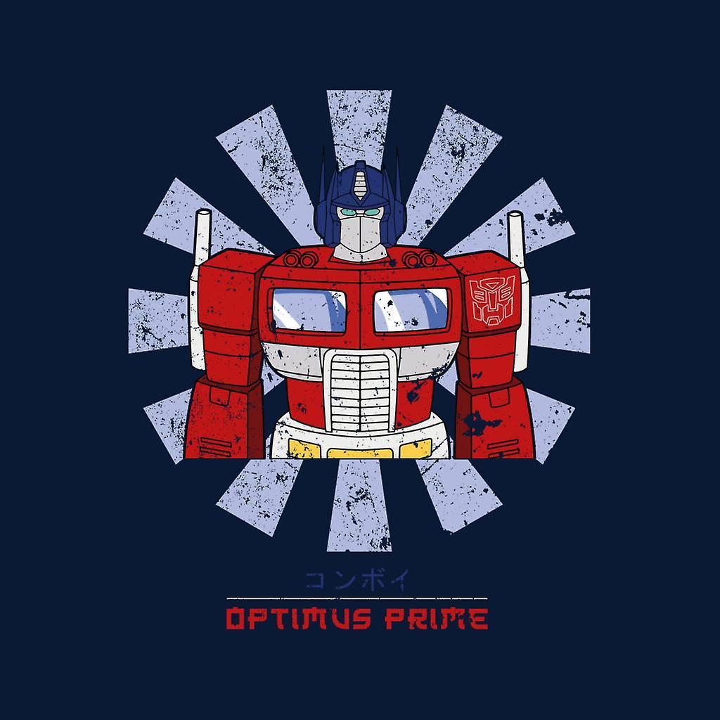 Transformers Optimus Prime Retro japonesas Varsity chaqueta de