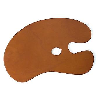 Artists Wooden Kidney Palette Large (58 x 40cm)