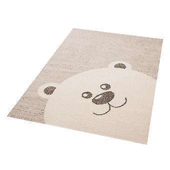 Kids play mat Teddy bear Toby 120 x 170 cm. Carpet nursery