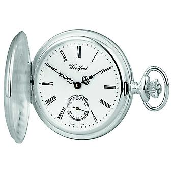 Woodford Silver Hunter Pocketwatch 1064 Watch