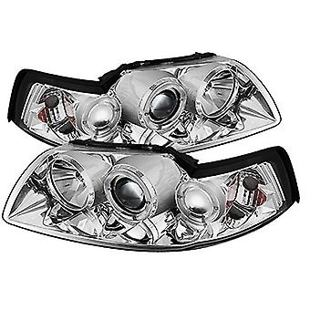 Spyder Auto Ford Mustang Chrome Halogen Projector Headlight